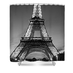 Tower Glow Shower Curtain