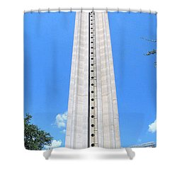 Tower Of The Americas Shower Curtain
