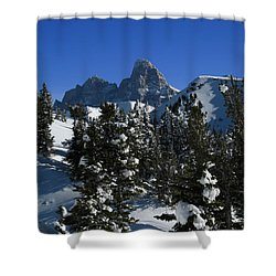Shower Curtain featuring the photograph Towering Above Lies The Grand by Raymond Salani III