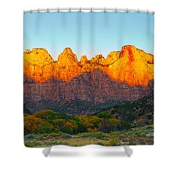 Towers Of The Virgin And The West Shower Curtain