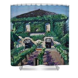 Tra Vigne Shower Curtain by Donna Tuten