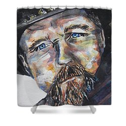 Trace Adkins..country Singer Shower Curtain by Chrisann Ellis