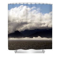 Shower Curtain featuring the photograph Tracy Arm Fjord by Jennifer Wheatley Wolf