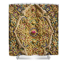 Traditional Embroidery In Jerusalem Israel Shower Curtain