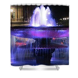 Trafalgar Square Fountain Shower Curtain