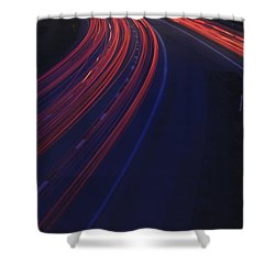 Trail Blazing Shower Curtain
