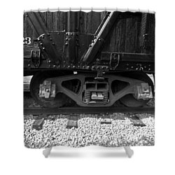 Train Car Shower Curtain