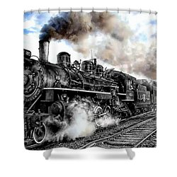Train I Shower Curtain