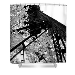Train Trestle In The Woods 2.0 Shower Curtain