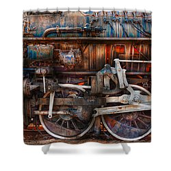 Train - With Age Comes Beauty  Shower Curtain by Mike Savad