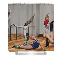 Training Shower Curtain
