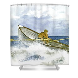 Training  Shower Curtain