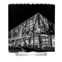 Trains And Buses Shower Curtain