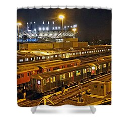 Trains Nyc Shower Curtain