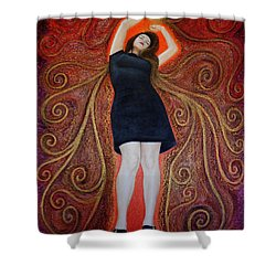 Trance Shower Curtain