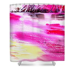 Tranquil 2 Shower Curtain by Anil Nene