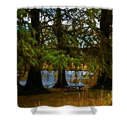 Tranquil And Serene Shower Curtain