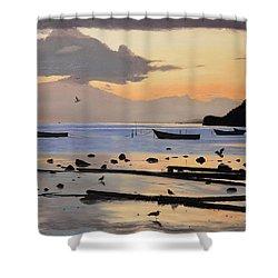 Tranquil Dawn Shower Curtain