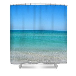 Shower Curtain featuring the photograph Tranquil Gulf Pond by David Nicholls