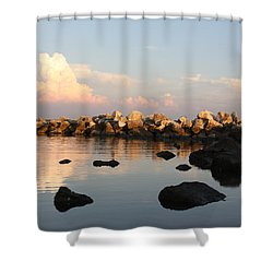 Tranquil Inlet Shower Curtain