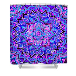 Tranquil Lotus Shower Curtain