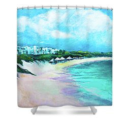 Tranquility Anguilla Shower Curtain
