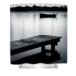 Tranquility Shower Curtain by Dave Bowman
