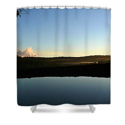 Shower Curtain featuring the photograph Tranquility by Evelyn Tambour