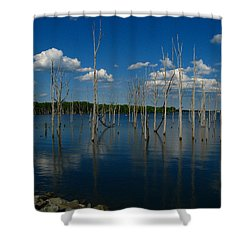 Shower Curtain featuring the photograph Tranquility II by Raymond Salani III