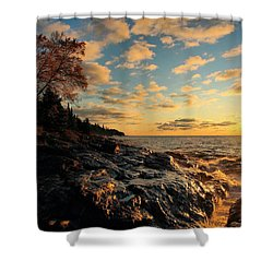 Tranquility Shower Curtain by James Peterson