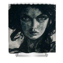 Portait Of Beatcee May Shower Curtain