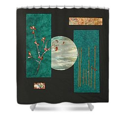 Tranquility Shower Curtain by Jenny Williams