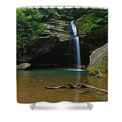 Tranquility Shower Curtain by Julie Andel