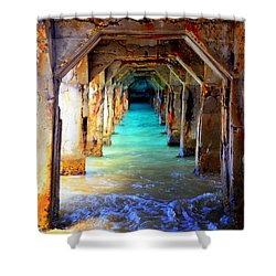 Tranquility Shower Curtain by Karen Wiles