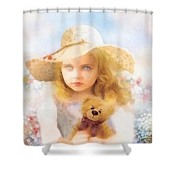 Tranquility Shower Curtain by Mo T