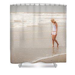 Shower Curtain featuring the photograph Tranquility by Sennie Pierson