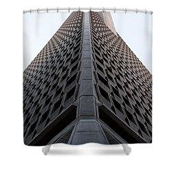 Transamerica Spine Shower Curtain by John Daly