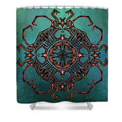 Transcrab Shower Curtain