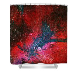 Shower Curtain featuring the painting Transformation by Jacqueline McReynolds
