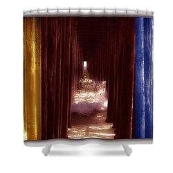 Transforming Waters  Orginal Piece Shower Curtain