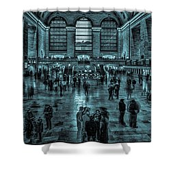 Transient Existance Shower Curtain by Chris Lord