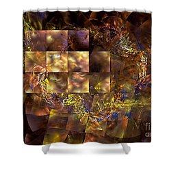 Translucence Shower Curtain by Olga Hamilton