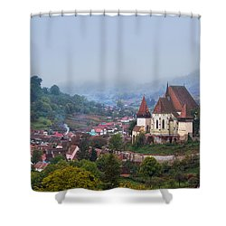 Transylvania Shower Curtain by Mircea Costina Photography