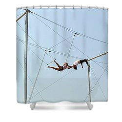 Trapeze School Shower Curtain by Brian Wallace