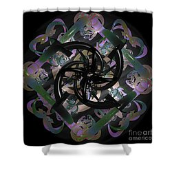 Trapped Emotion Shower Curtain by Sara  Raber
