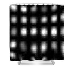 Trapped In The 5th Dimension Shower Curtain by Daniel Hagerman