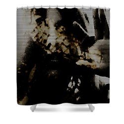 Shower Curtain featuring the photograph Trapped Inside by Jessica Shelton