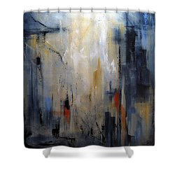 Travel Shower Curtain