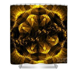 Traveler  Shower Curtain by Elizabeth McTaggart