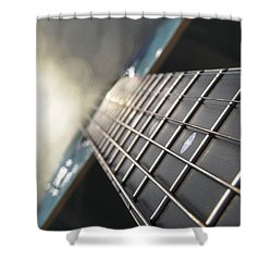 Traveler Of Time And Space Shower Curtain